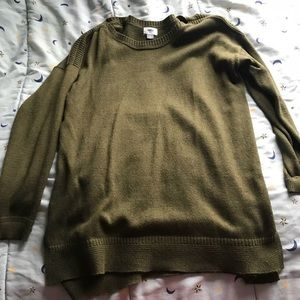 Old navy green long sweater